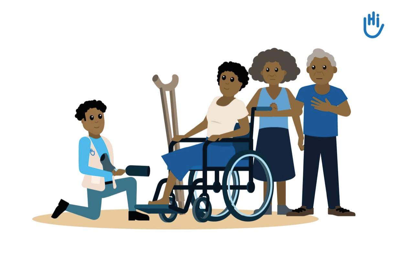 Handicap international animatie